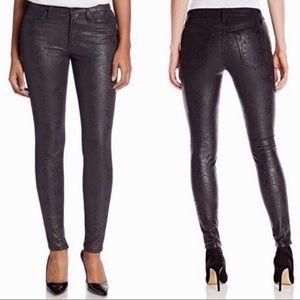 Joe's Jeans Zina snakeskin pant, size 24, NWT